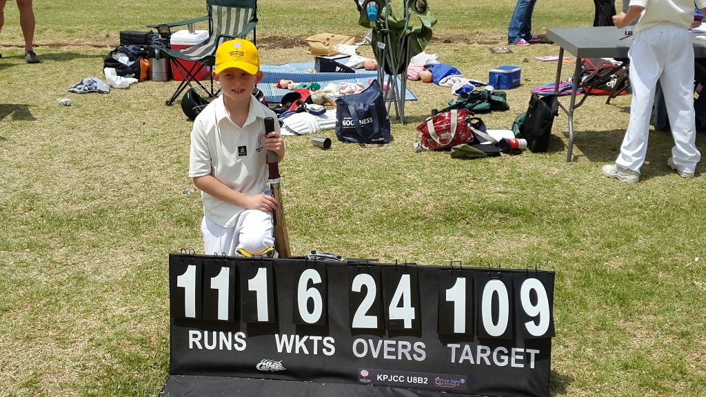 Ethan James - 57 Not out