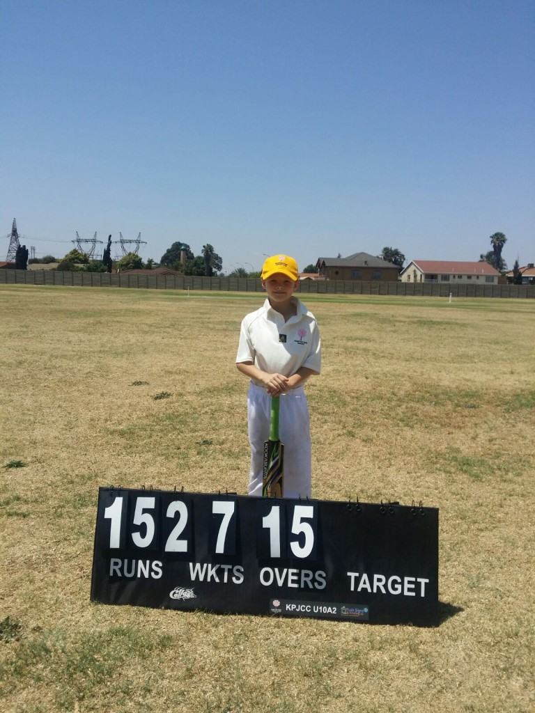 Aiden Patterson - 50 not out