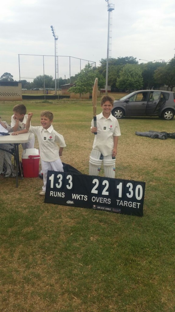 Luke Scrimgeour 50 not out